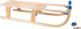 Luge pliante en bois