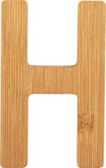 Lettres alphabet en bambou H