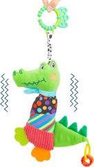 Jouet pour bébé Crocodile en tissu