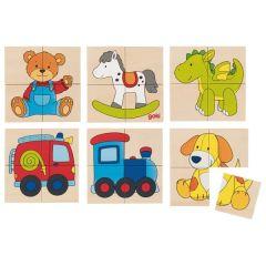 Karemo puzzle et mémo jouets