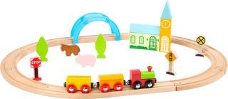 Chemin de fer en bois Ville et pays