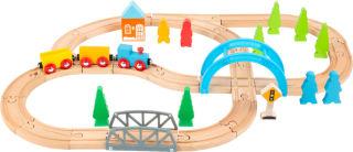 Chemin de fer en bois Grand voyage