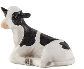 Animal Planet Veau Holstein couché