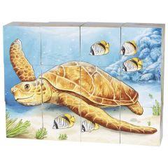 Puzzle de cubes, animaux australiens