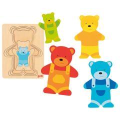 Puzzle à couches, ours