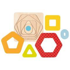 Puzzle à couches, formes II