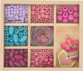 Perles à enfiler Kit créatif compact