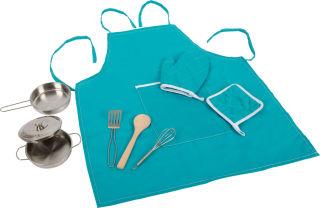 Set de cuisine avec tablier